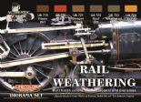LC-CS21 Rail Weathering set (22ml x 6)